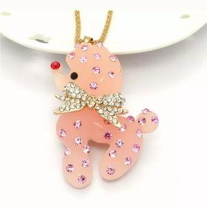 Betsey Johnson Puddle Necklace